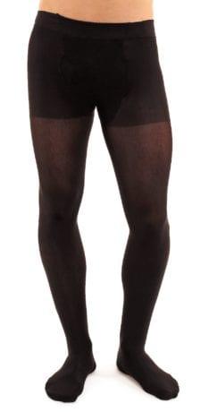 Men's Microman 100 tights 100 denier black front view half body